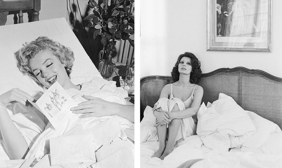 Σπάνιες φωτογραφίες διασήμων στις κρεβατοκάμαρές τους!