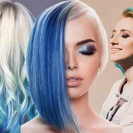 Εάν τα μαλλιά μας είναι ξανθά, μπορούμε να αποκτήσουμε αυτήν τη νέα τάση προσθέτοντας σε μερικές τούφες, από τη ρίζα ως τις άκρες, τους δροσερούς τόνους του τιρκουάζ ή σε τόνους του γαλάζιου… σαν τα κύματα του ωκεανού!