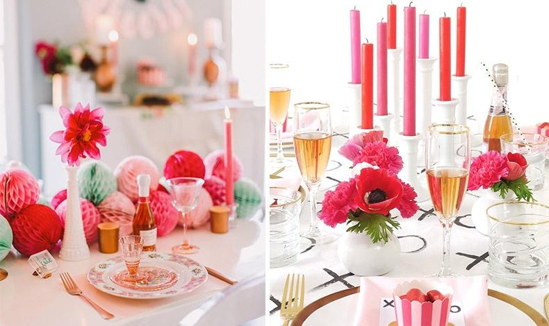Αφήστε να σας χτυπήσουν τα βέλη του έρωτα με μία μοντέρνα και χαρούμενη διακόσμηση στο τραπέζι σας!