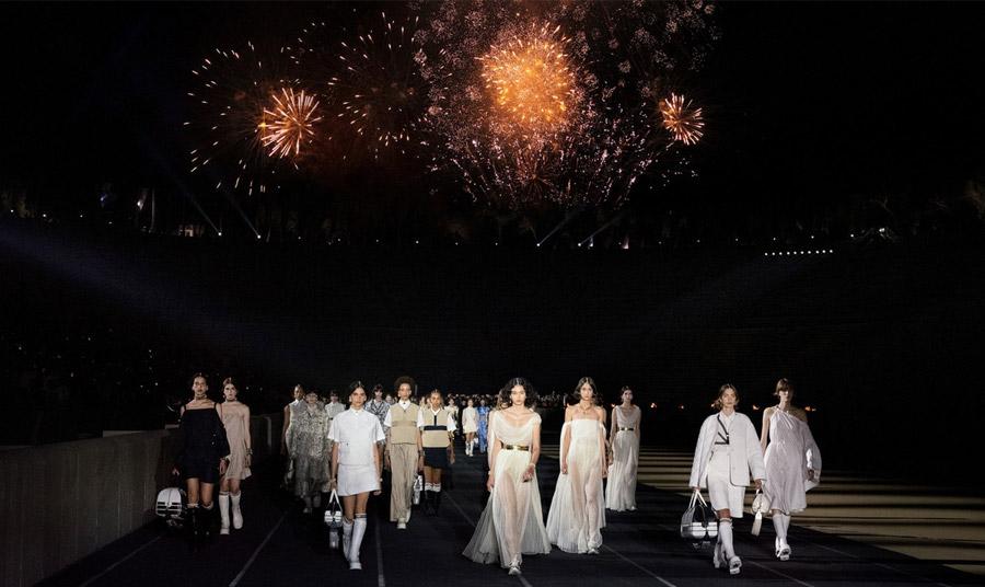 Το φαντασμαγορικό show του οίκου Dior στο Παναθηναϊκό Στάδιο