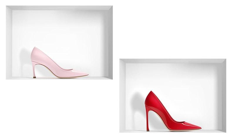 Διατίθεται σε πληθώρα χρωμάτων από το έντονο κόκκινο μέχρι το διακριτικό ροζ