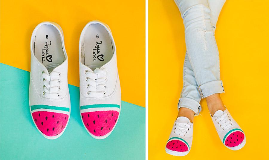 Φτιάξτε μόνες σας τα πιο καλοκαιρινά αθλητικά παπούτσια!