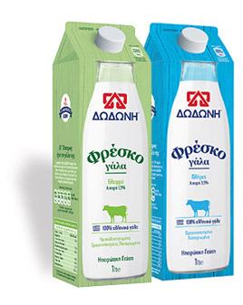 Φρέσκο γάλα Δωδώνη