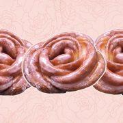 Αυτά τα ντόνατς σε σχήμα τριαντάφυλλου είναι η επόμενη μεγάλη τάση!