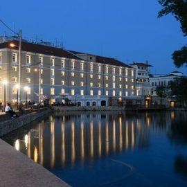 Το ολοκαίνουργιο υπερσύγχρονο ξενοδοχείο Hydrama Grand Hotel, πέντε αστέρων, στην αναπαλαιωμένη καπναποθήκη Spierer