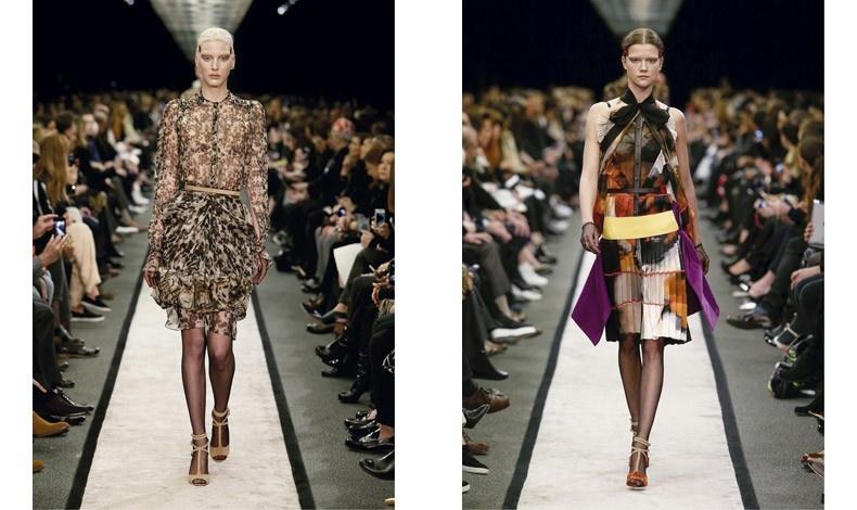 Φορέματα με ιδιαίτερα κοψίματα και ντεσέν για τον φετινό χειμώνα, GIVENCHY