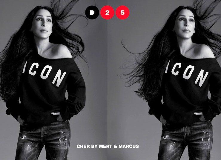 Η Cher πρωταγωνιστεί στην καμπάνια του οίκου Dsquared2