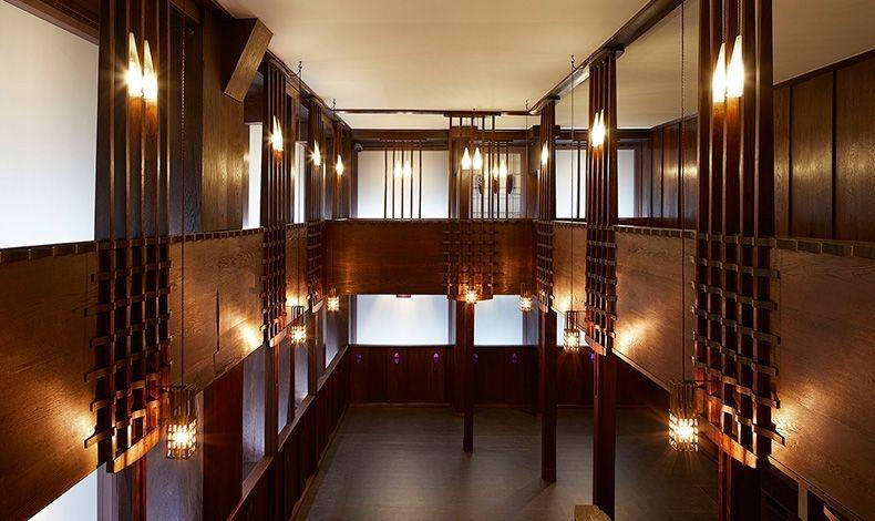 Το υπέροχο Charles Rennie Mackintosh Oak Room
