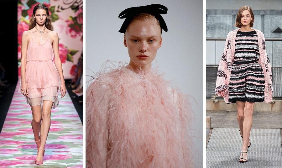 Από τη συλλογή άνοιξη-καλοκαίρι 2020: Blumarine // Giambattista Valli // Chanel