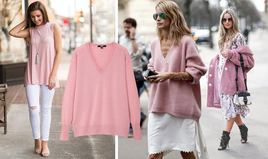 Ένα μπλουζάκι ή ένα βαμβακερό πουλόβερ με λευκό παντελόνι ή φούστα αλλά και ένα πανωφόρι με ένα λουλουδάτο φόρεμα και είστε στο πνεύμα της μόδας