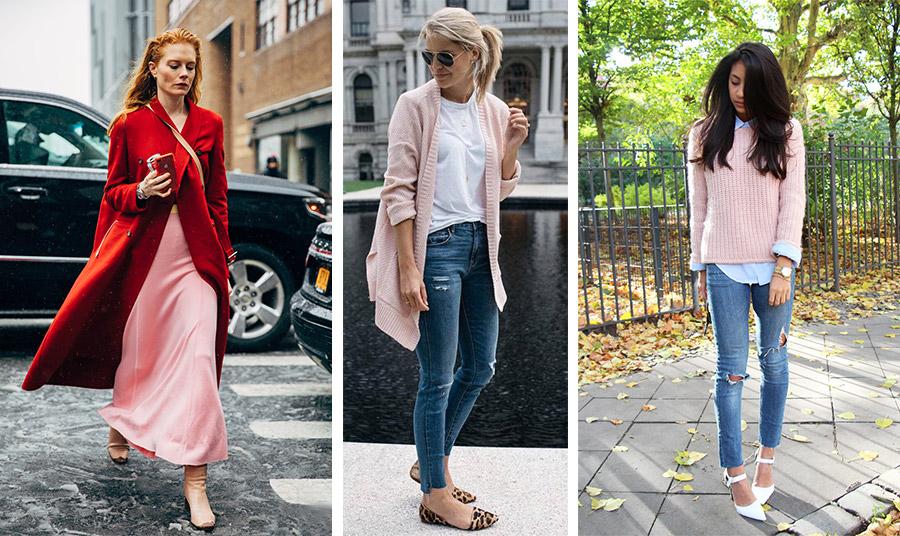 Δυναμικό κόκκινο με dusty pink; Ναι για τις τολμηρές! // Εύκολος συνδυασμός με τζιν και ένα λευκό T-shirt ή ένα πουκάμισο