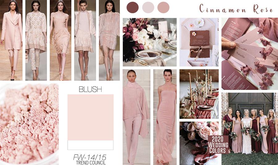 Η απόχρωση του «σκονισμένου» ροζ είναι μία από τις μεγαλύτερες τάσεις της σεζόν και σημειώστε ότι είναι και μία από τις πιο μοντέρνες επιλογές ως κεντρικό χρώμα του… επικείμενο γάμου σας!