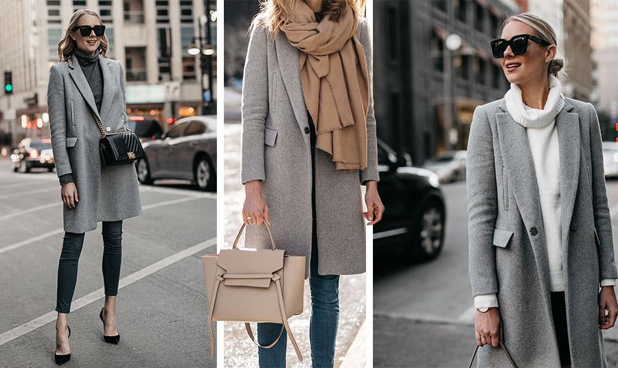 Οι αποχρώσεις του γκρι όχι μόνο είναι φέτος πολύ στη μόδα αλλά παραμένουν διαχρονικές. Φορέστε ένα γκρι μακρύ σακάκι ή παλτό με μαύρο, με γήινα μπεζ ή με λευκό και κερδίζετε… πόντους στην εμφάνισή σας