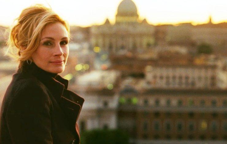 Η Τζούλια Ρόμπερτς στην Ιταλία, από σκηνή της ταινίας «Eat, Pray, Love»