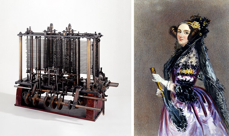 Η Αγγλίδα μαθηματικός και συγγραφέας Ada Lovelace θεωρείται η πρώτη που αναγνώρισε το πλήρες δυναμικό μιας