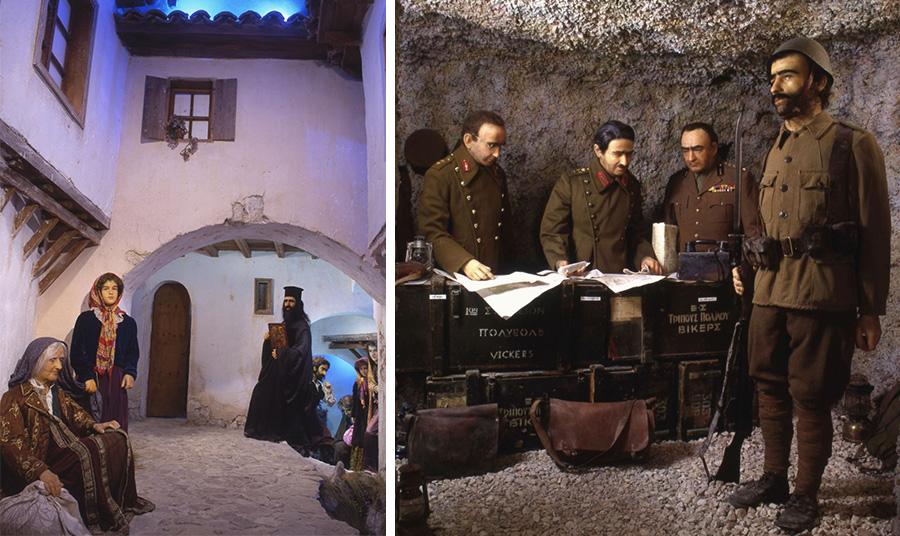 «Μικρά Ασία» // Το στρατηγείο στο Καλπάκι 1940