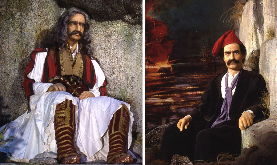 Θεόδωρος Κολοκοτρώνης και Κωνσταντίνος Κανάρης