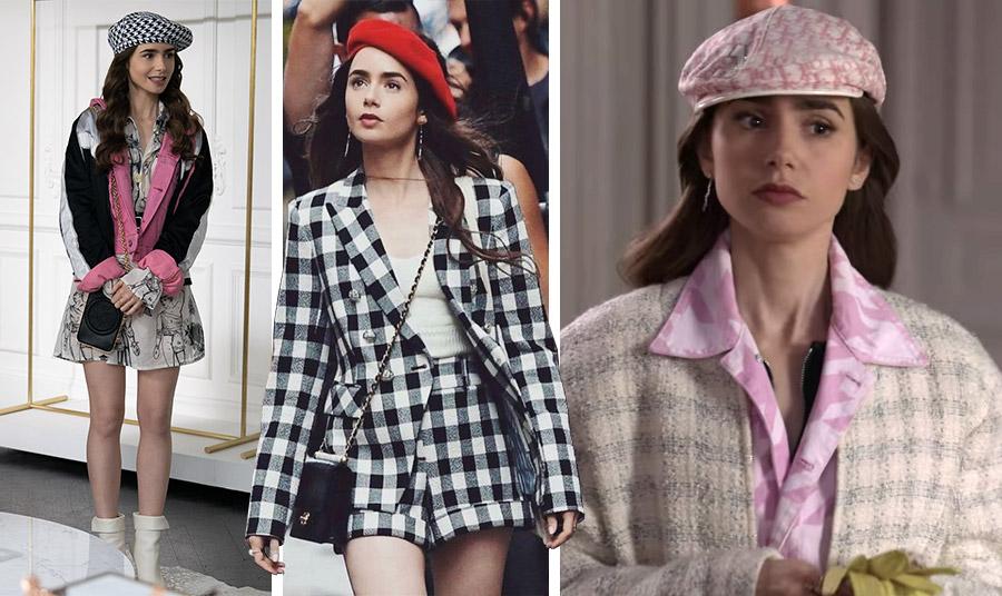 Η  Lily Collins απογείωσε τον μπερέ στις εμφανίσεις της στη σειρά «Emily in Paris» που σπάει… ταμεία! Με απίστευτους συνδυασμούς, σε καρό, σε κόκκινο και φυσικά στο παστέλ ροζ του οίκου Dior είναι πηγή… έμπνευσης!