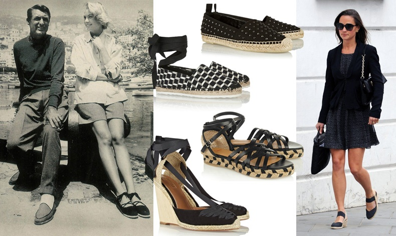 Εσπαντρίγιες: Το απόλυτο παπούτσι του καλοκαιριού