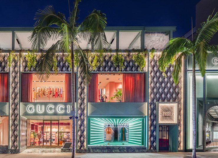 Το εντυπωσιακό ολοκαίνουργιο εστιατόριο από τον οίκο Gucci στο Λος Άντζελες
