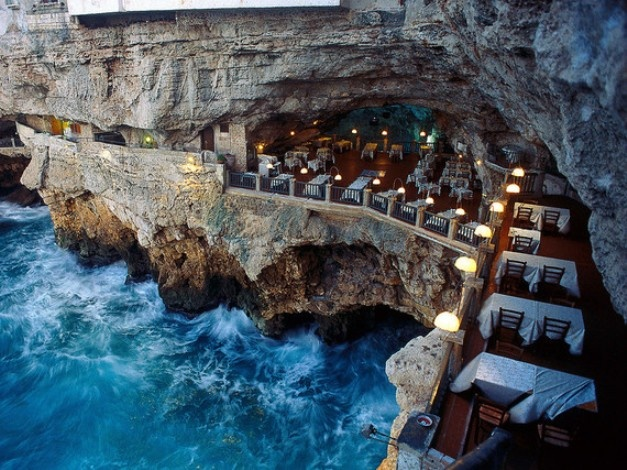 Grotta Palazzese, Πούλια, Ιταλία