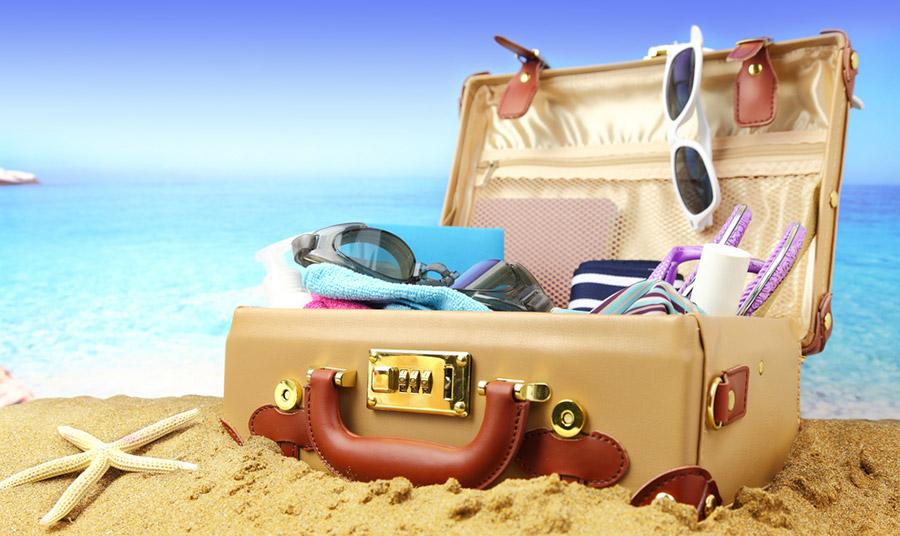 Έτοιμοι για τις διακοπές; Ας ετοιμάσουμε σωστά τη βαλίτσα μας!