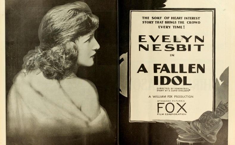 Αφίσα από την ταινία A Fallen Idol (1919), στην οποία πρωταγωνιστούσε