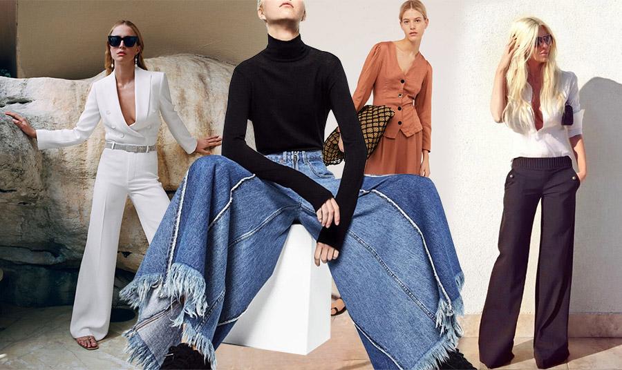 Φαρδιά παντελόνια: Η άνεση είναι το σύνθημά τους!