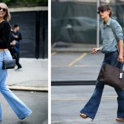 Φορέστε ένα τζιν παντελόνι με φαρδύ τελείωμα και είστε με τον πιο εύκολο τρόπο στο πνεύμα της μόδας!