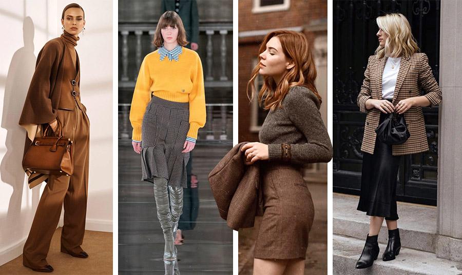 Το στιλ Dark Academia με κοτλέ, καφέ τόνους, πλισέ ή μίνι τουίντ φούστες και καρό είναι το νέο vintage