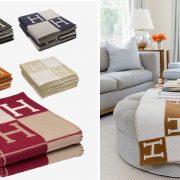 Η διάσημη κουβέρτα «Avalon» του οίκου Herm?s είναι ένα όμορφο και πρακτικό κομμάτι που θα αλλάξει το σπίτι σας!