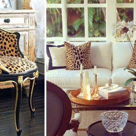 Το λεοπάρ μοτίβο είναι «σταθερή» αξία της μόδας! Μαξιλάράκια, ένα ριχτάρι, μία πολυθρόνα ή γιατί όχι ο καναπές σας; Τολμήστε να κάνετε mix & match με τα υπόλοιπα prints του σπιτιού