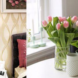 Οι χρυσαφί απoχρώσεις επίσης συμβολίζουν τον πλούτο και την αφθονία // Στο κέντρο του τραπεζιού μας τοποθετούμε βάζο με φρέσκα λουλούδια