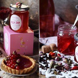 Απολαύστε το jelly jam κλασικά στο ψωμί ή σε μπισκότα, ή πάλι δημιουργήστε ένα μοναδικό κοκτέιλ σαμπάνιας