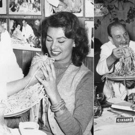 Ο Alfredo με την Σοφία Λόρεν αλλά και με τον Τζον Κένεντι τη δεκαετία του '60