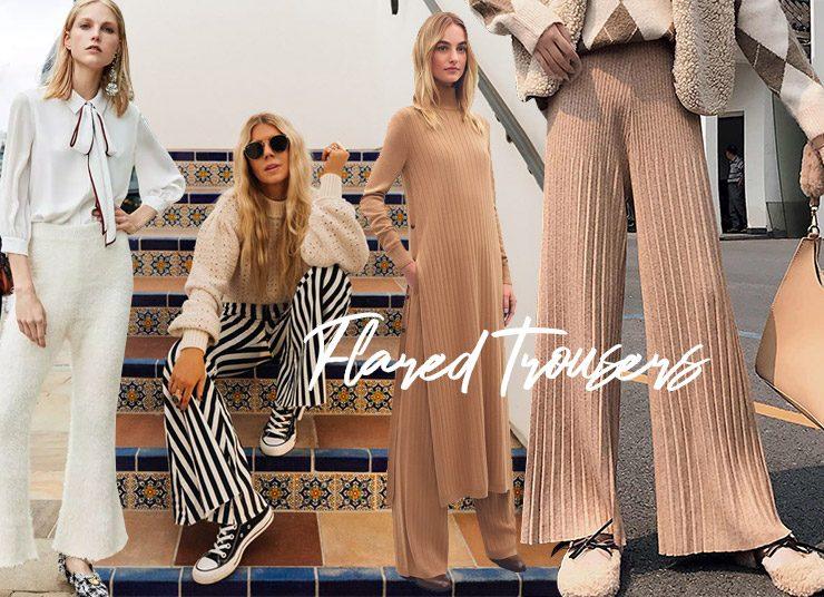 Παντελόνια καμπάνα από μαλακά υφάσματα είναι η νέα εμμονή της μόδας