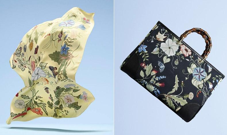 Η νέα εικόνα του Flora σε μαντήλι και σε τσάντα