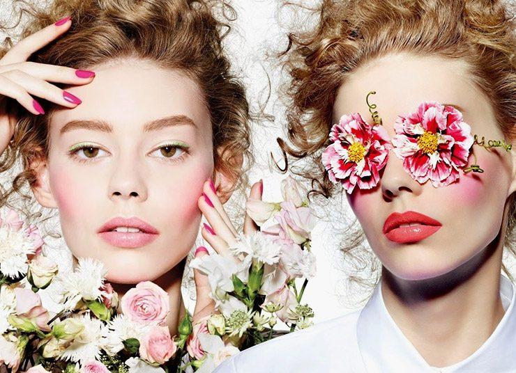 Μακιγιάζ: Οι αποχρώσεις των λουλουδιών στο πρόσωπό μας
