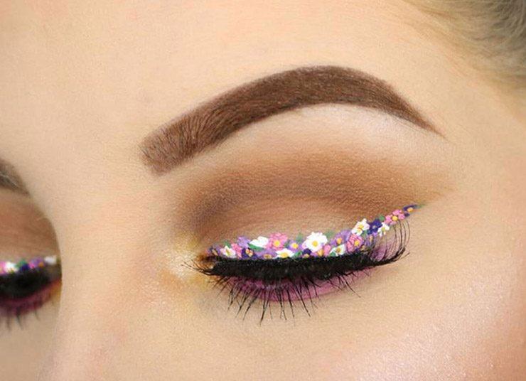 Floral eyeliner: Η ζωγράφος που κρύβουμε μέσα μας