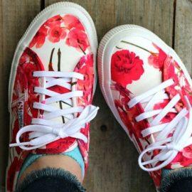 Φλοράλ sneakers: Πάνε με όλα!