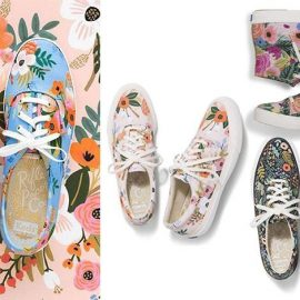 Η Keds σε συνεργασία με τη Rifle Paper Co. δημιούργησαν μία συλλογή από λουλουδάτα sneakers γεμάτη από ζωηρά χρώματα και ρομαντικά λουλούδια