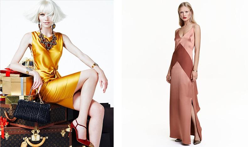 Αν η σιλουέτα σας είναι «κλεψύδρα», αποφύγετε τα φορέματα με κλειστή λαιμόκοψη ή ζιβάγκο –θέλετε να αναδείξετε το ντεκολτέ σας και όχι να το κρύψετε. Ιδανικά είναι τα ίσια φορέματα!