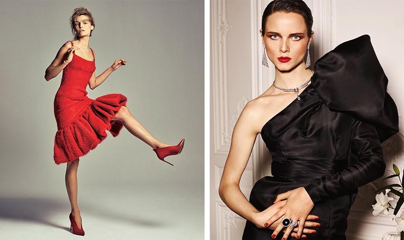 Φορέστε εκτός από μαύρο και κάποιο χρώμα! Όπως το κόκκινο! // Επιλέξτε με προσοχή τα αξεσουάρ και πώς θα τα συνδυάσετε