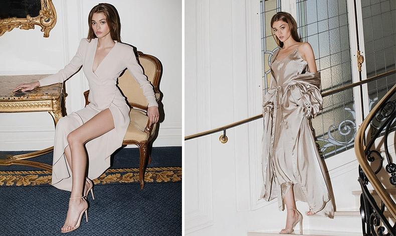 Μακριά φορέματα με ψηλά τακούνια για πιο επίσημες και σέξι εμφανίσεις