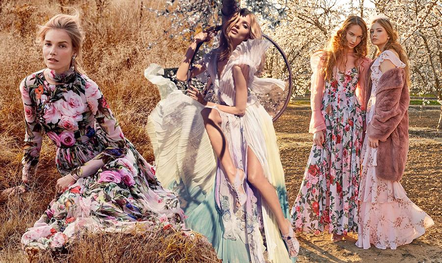 Διαλέξτε τα ιδανικά για εσάς ανοιξιάτικα φορέματα