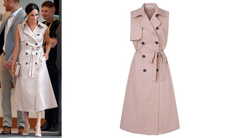 Αμάνικο, με κλασική γραμμή, το φόρεμα της Μέγκαν Μαρκλ παραδίδει μαθήματα στιλ? Για τις επαγγελματικές σας υποχρεώσεις και τις βόλτες σας