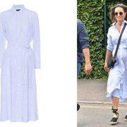 Ένα ρομαντικό, ανάλαφρο φόρεμα σαν αυτό που φορά η Πίπα Μίντλετον είναι ό,τι πρέπει για τις ζεστές καλοκαιρινές ημέρες