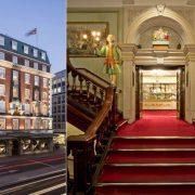 Το ίδιο το κτίριο είναι εντυπωσιακό // Επιβλητική, η κεντρική σκάλα του καταστήματος στο Piccadilly