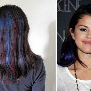Μπορείτε να δώσετε οποιαδήποτε ιδιαίτερη ή και τολμηρή απόχρωση στα μαύρα μαλλιά σας είτε με τη χρήση χρωματιστών εξτένσιον ή με τις νέες μάσκαρα για τα μαλλιά