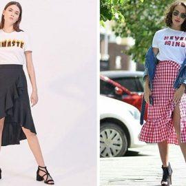 Μονόχρωμη ή καρό, ταιριάζει με το αγαπημένο σας T-shirt και με ίσια ή πιο ψηλά παπούτσια